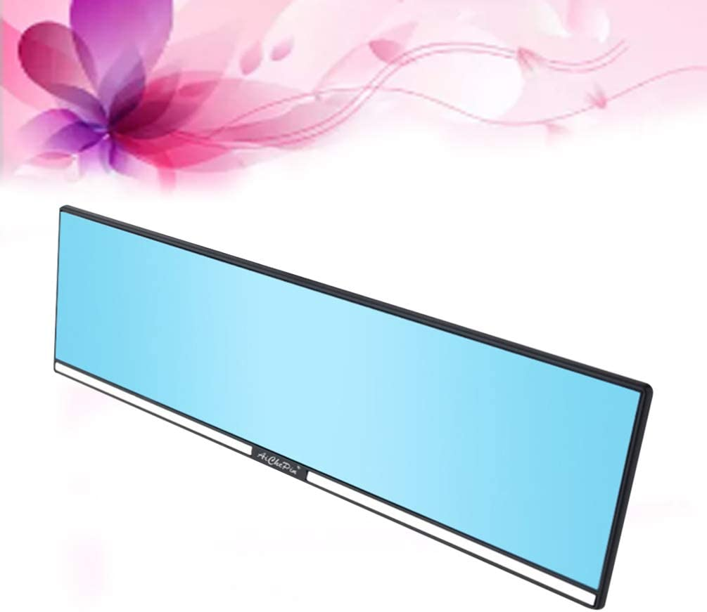 BESPORTBLE Car Rear View Mirror Wide Angle Rearview Mirror Rear Anti-Dazzling Interior Rearview Mirror for Cars Trucks SUV