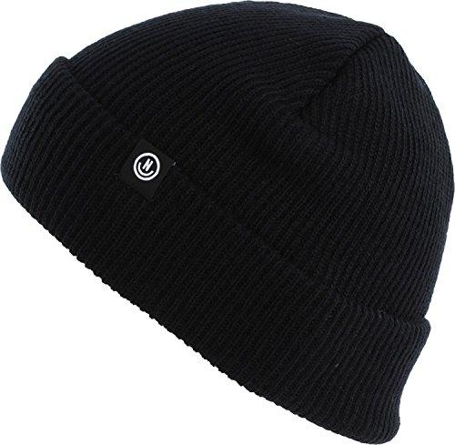 Neff Headwear Serge Fold Beanie All Black