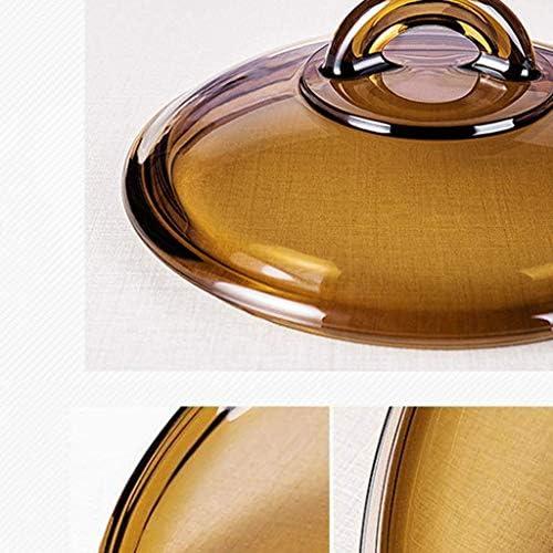 LIUCHANG Simple et Durable HzPDG Lait Moderne Pan - Poignée Ergonomique en Verre de Lait Pan Pan Multifonctions, Facile à Nettoyer liuchang20