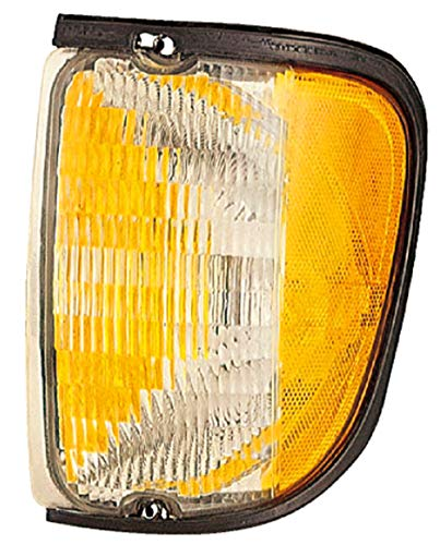 For 1992 1993 1994 1995 1996 1997 1998 1999 2000 2001 2002 Ford Econoline Van Turn Signal Corner Light lamp Assembly Driver Left Side Replacement FO2520122