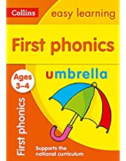 First Phonics Ages 3-4: Prepare for Preschool with Easy Home Learning