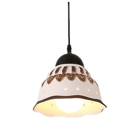Retro Lámpara de Techo Plafón Lámpara Colgante Vintage ...