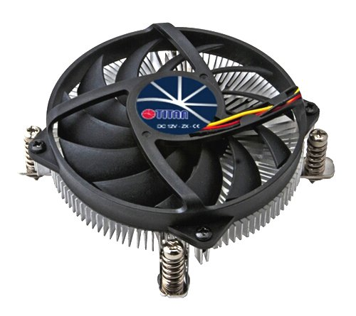 Titan DC-155A915Z/RPW 95mm Z-AXIS Low Profile CPU Cooler for Intel LGA 1155 / 1156