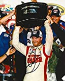 DALE EARNHARDT JR signed NASCAR 8X10 DAYTONA 500 TROPHY photo with COA - Autographed Photos