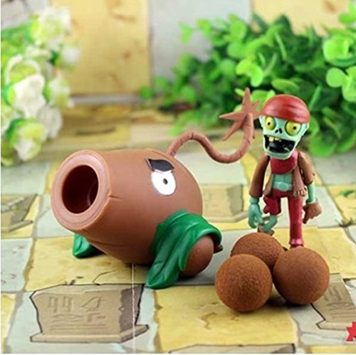Zombies Plants Vs Toys Shooters Coconut Cannon Game Figure Toy PVC New (Plants Vs Zombies Garden Warfare Best Class)