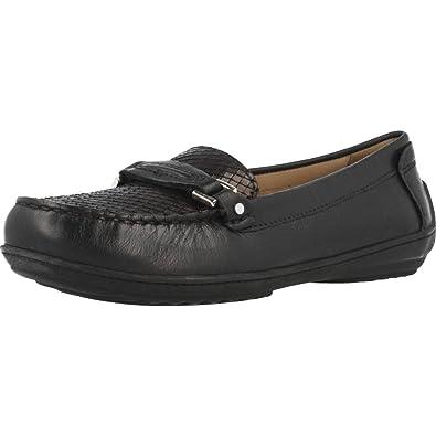 Mocasines para Mujer, Color Negro, Marca GEOX, Modelo Mocasines para Mujer GEOX D Jamilah 2FIT A Negro: Amazon.es: Zapatos y complementos