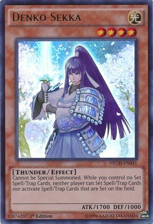 Yu-Gi-Oh! - Denko Sekka (NECH-EN041) - The New Challengers - Unlimited Edition...
