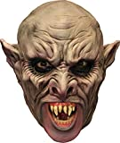 Ghoulish Men's Fearsome Chinless Vampire Horror Party Latex Halloween Costume Mask