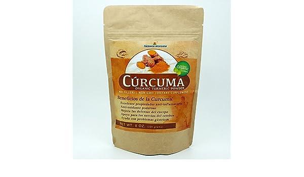 Amazon.com: Curcuma Organic Turmeric Powder 8 oz: Health & Personal Care