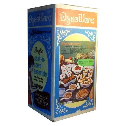 Vintage-DynaWare-Royal-Bakeware-Set-28-Piece-Set