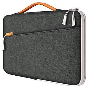 JETech Housse d'Ordinateur Portable 13,3-Pouces, Sacoche Étanche pour Tablette, Pochette avec Poignée Compatible 13…
