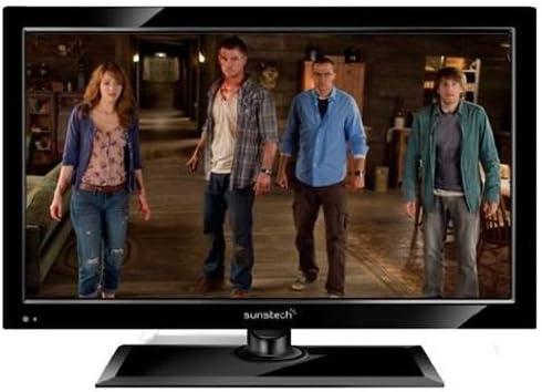 Sunstech TLEXI1662HDBK - Televisión LED de 16 pulgadas, HD Ready, DVD, color negro: Amazon.es: Electrónica