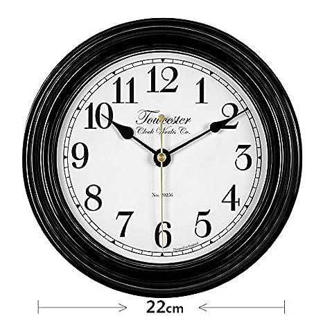 Y-Hui, las habitaciones son acogedoras Relojes de pared en el país europeo Estilo Salón Decoración ...