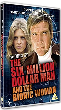 Return Of The Six Million Dollar Man And The Bionic Woman Dvd Region2