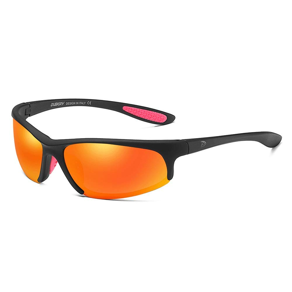DUBERY Men's Polarized Sport Sunglasses Outdoor Driving Riding Fishing Glasses 100% UV Protection (#6) by DUBERY
