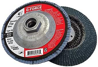 40 Grit Aluminum Oxide 5//8 Arbor Griton FA94040 Industrial Type 29 Abrasive Flap Disc 4 Diameter Pack of 10