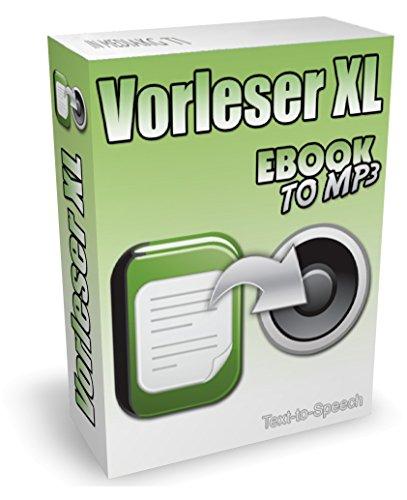 Vorleseprogramm und TTS-Software zum Text in Sprache umwandeln - Text vorlesen lassen für Word, PDF, eBooks, E-Mails, TXT, Internetseiten usw. Auf Wunsch kann die Vorlesesoftware auch Text in MP3 konvertieren