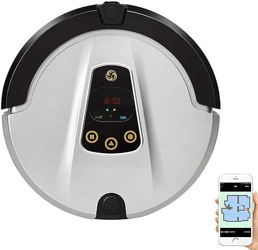 WMWHALE Aspirador Robot, con función de cámara, Auto de aspiración Fuerte de 1800Pa, Carga automática con Anti-caída, para Aplicaciones de Alfombra y Piso Duro para Mascotas: Amazon.es: Hogar
