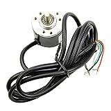 Aideepen Encoder 600 P/R 5V-24V Incremental Rotary AB 2 Phase 6mm Shaft