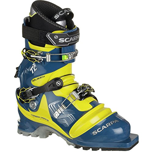 Scarpa T2 Eco Boot - Men's True Blue / Acid Green 26.5