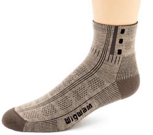 Wigwam Men's Rebel Fusion Trekker Socks,Khaki,Medium/shoe Size:Men's 5-9.5,Women's 6-10