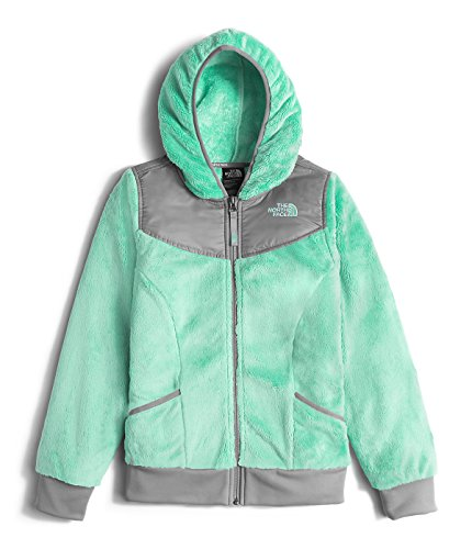 The North Face Oso Hoodie Girls' Ice Green Medium by The North Face