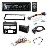 PIONEER DEH-X6900BT CD RECEIVER CAR STEREO CAR STEREO RADIO DASH INSTALLATION MOUNTING KIT+ ADD ON STORAGE POCKET+ WIRING HARNESS + RADIO ANTENNA ADAPTER FOR SELECT CHEVROLET AND GMC VEHICLES