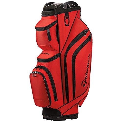 TaylorMade Supreme Cart Golf Bag Red