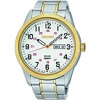 Seiko SNE370 Analog Display Japanese Quartz Two Tone Men's Watch