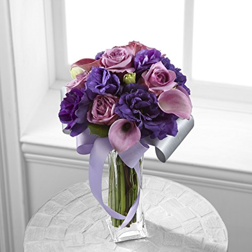 Shades of Purple Bouquet - Fresh Flowers Hand Delivered in Albuquerque Area