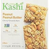 Kashi Chewy Granola Bar, Peanut Peanut Butter (1.2 oz X 6), 7.4 Ounce
