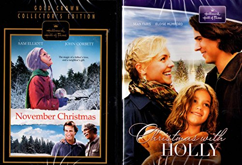 Christmas with Holly , November Christmas Hallmark Gold Crown Collector's Edition : 2 pack ()
