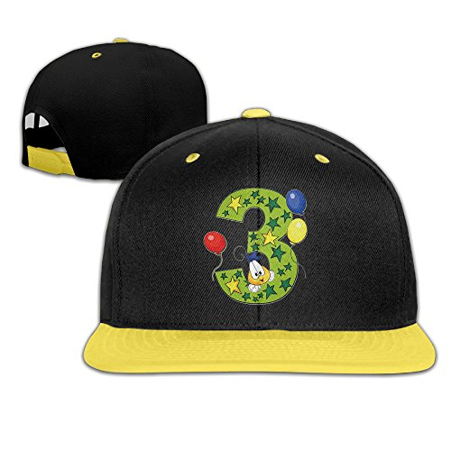 phony-balloon-star-number-three-yellow-sport-boys-cap