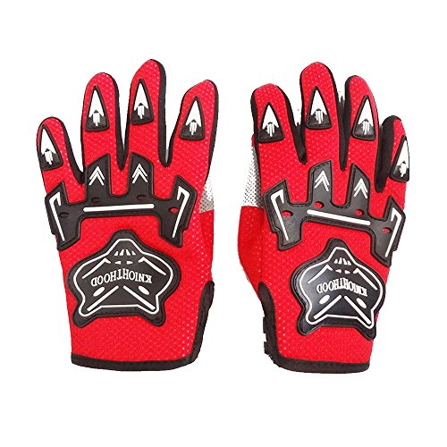 Youth Dirtpaw Gloves (Youth Kids Motocross Off-Road ATV Dirt Pit Bike Gloves Small Size (Red))