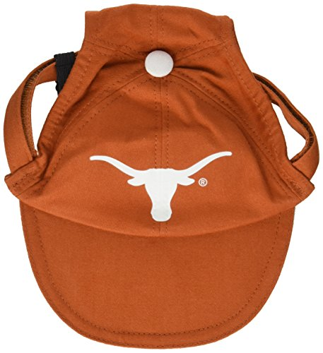 Sporty K9 Collegiate Texas Longhorns Dog Cap, Large  - New Design