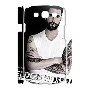 C-EUR Adam Levine Customized Hard 3D Case For Samsung Galaxy S3 I9300