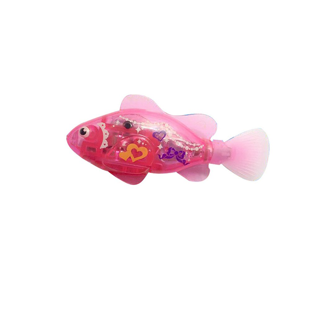 Roblue Fish Toy Plastic and Electronic Component 2.950.791.38 Inch Glowing Toy 1Pcs