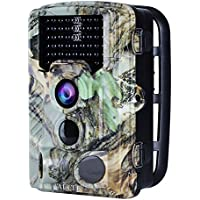 AUCEE Trail Camera, 16MP 1080P HD Wildlife Camera Motion...