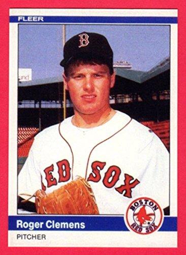 (Roger Clemens 1984 Fleer Update Baseball Rookie Reprint Card (Red Sox) )
