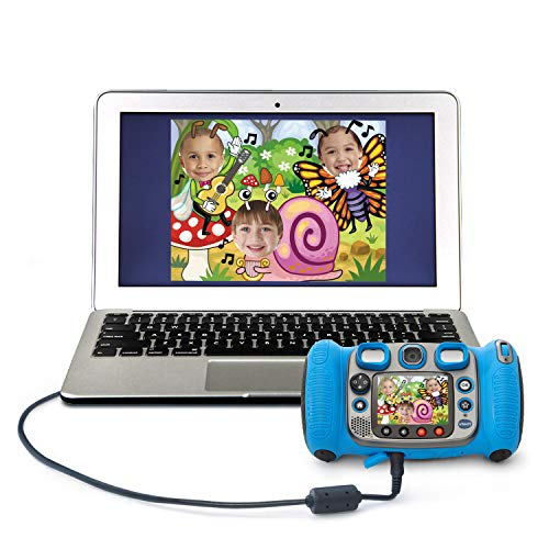 VTech Kidizoom Duo 5.0 Deluxe Digital Selfie Camera with MP3 Player & Headphones, Blue by VTech (Image #5)