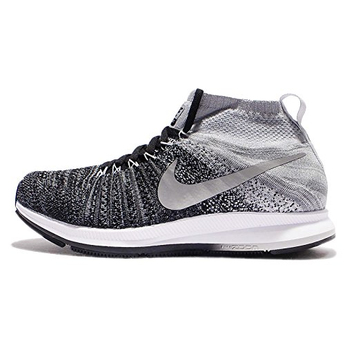 Nike 844979-003, Zapatillas de Trail Running para Niños Negro (Black / White / Wolf Grey / Pure Platinum)