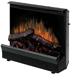 Dimplex DFI2310 Electric Fireplace Deluxe 23-Inch Insert, Black
