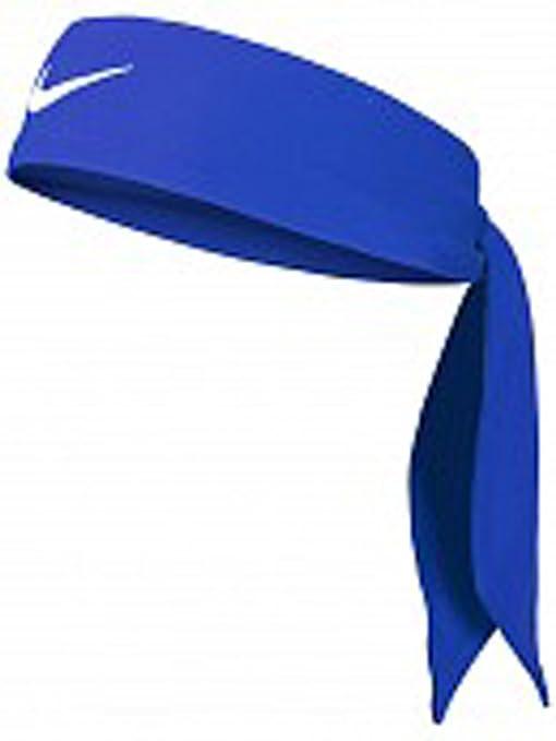 Fascia Tennis NIKE Dri-Fit Head Tie Swoosh capelli FEDERER NADAL Game Royal  White 3731830d1d75