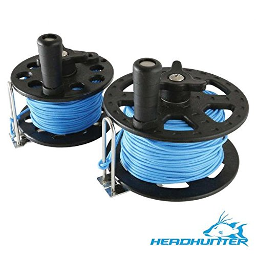 Headhunter Spearfishing Small Reel for Guerrilla Sling 75'