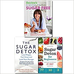 Davina The Sugar Free Detox Collection 3 Books Set, (Davina's 5