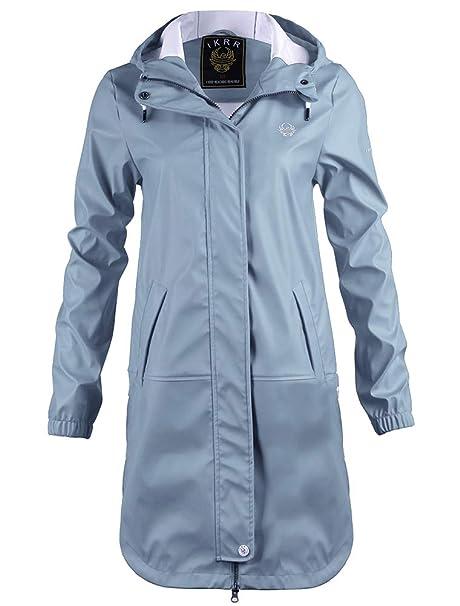 2c9181d27a9 S.IKRR Women's Raincoats Waterproof Jacket Lightweight Trench Coats Outdoor Hooded  Parka: Amazon.co.uk: Clothing