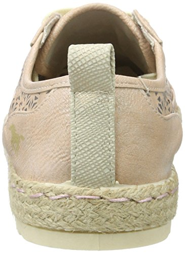 Donna Basse 202 506 506 Espadrillas Mustang Rosso Lachs 1245 RTIxqX