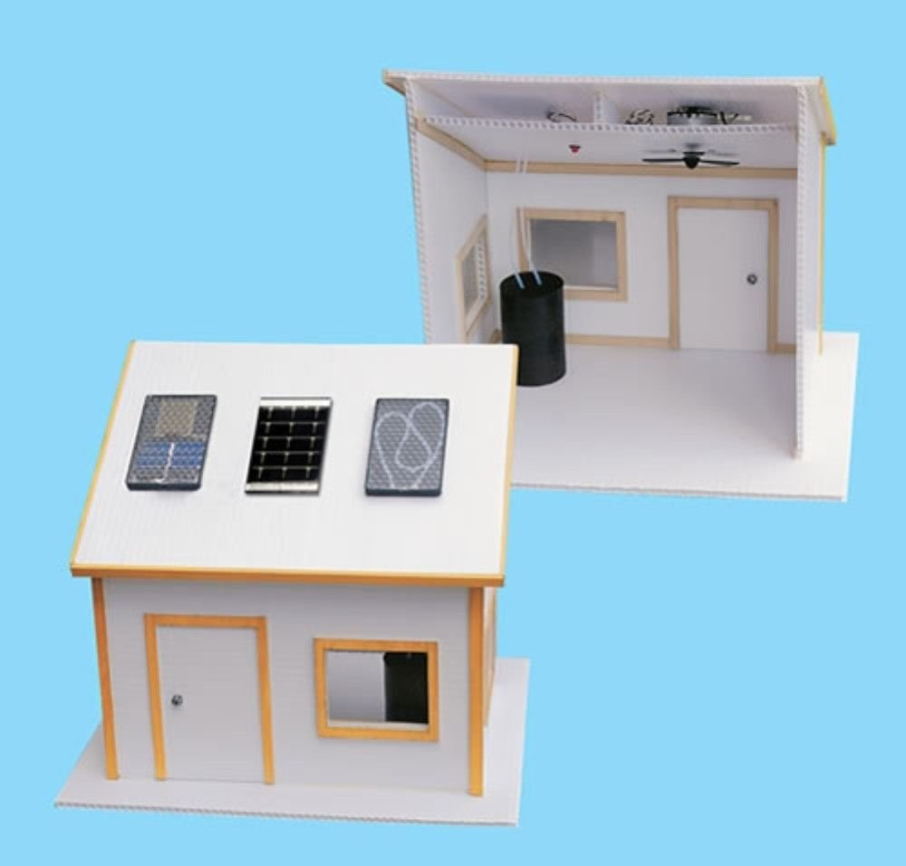 Solar Made Electric House Kit For Science Fair Birdhouse Light Circuit Diagram Projects Toys Games