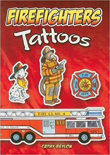 Book Firefighters Tattoos (Dover Tattoos)