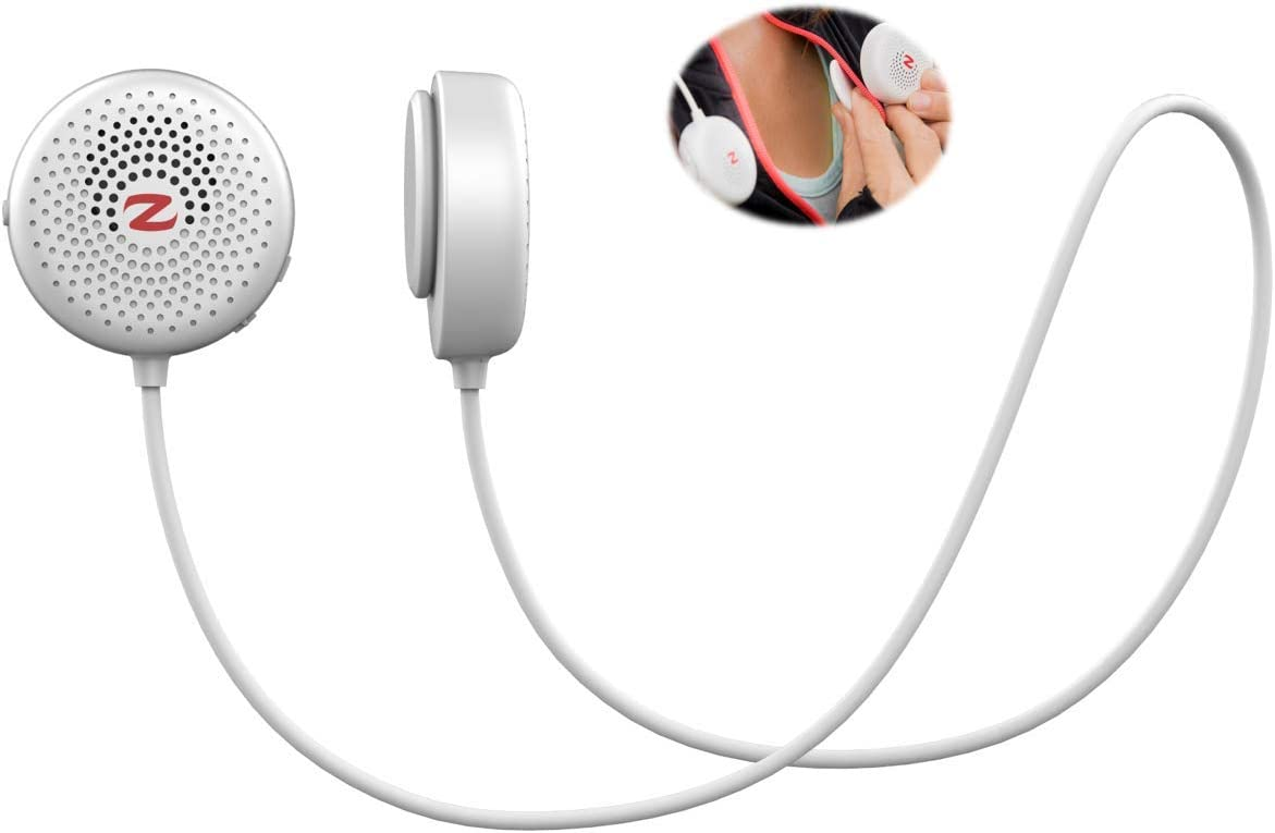 Zulu Audio Wearable Magnetic Bluetooth Speakers (White)